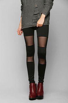 Break free from basic black leggings. #Twice