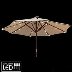 How To Use Umbrella Lights Delectable Umbrella Pole Light For Patio Umbrellas Camping Tents Or Outdoor