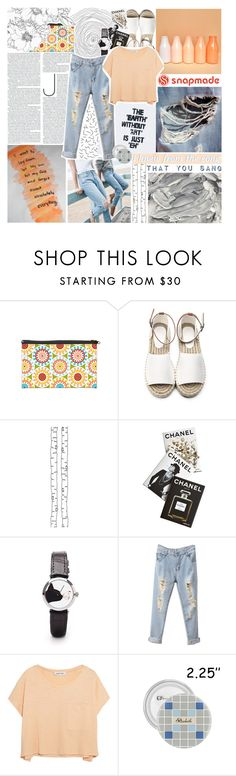 """""""PARADISE IN YOUR EYES - SNAPMADE"""" by glowing-eyes ❤ liked on Polyvore featuring ferm LIVING, Assouline Publishing and Elizabeth and James"""