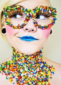 Sprinkles Eyewear...weird, not always a bad thing