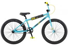 GT Bicycles: Pro Series Heritage 24 - 2020 - Sold out Bmx Bicycle, Bmx Bikes, Power Series, Bottom Bracket, 5th Wheels, Aqua Blue, Bicycles, Shop, Bicycle