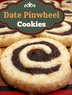 Date Pinwheel Cookie Recipe | whatscookingamerica.net