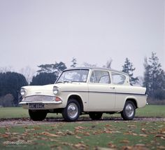 FORD Anglia 105E. My Dad was so proud of this car.