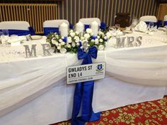 My top table