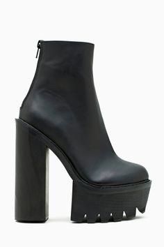Mulder Platform Boot $175 6 inches