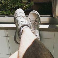 oggi... ma da un paio di settimane in realtà. #today #adidas #casualatwork