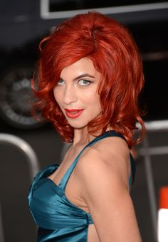 Natalia Tena (Tonks)- Now (Love that her hair is still wild!) :)