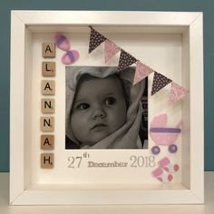 Great and unique gift for you and your family. Each memory frame can be made for different occasion as they are hand made. Order your frame online or in-store. Memory Frame, Baby Frame, Free Delivery, Unique Gifts, Store, Handmade, House, Hand Made, Home