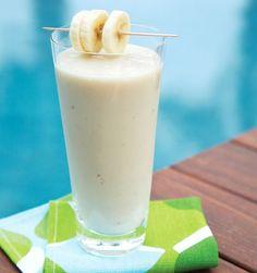 maca banana smoothie