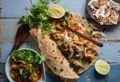 made with last nights chicken. The perfect balance of and for crunch. Chicken Curry, Roast, Lunch Box, Spices, Coconut, Meals, Healthy, Ethnic Recipes, Food