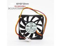 Fst  New  EVERFLOW 7010  R127010BU 12V  0.45A 7cm fan free shipping