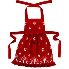 Gorgeous Christmassy apron from Ragged Rose.