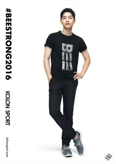 New KOLON SPORT Song Joong Ki Collection! Go Ahead! Make Your Day! | Couch Kimchi