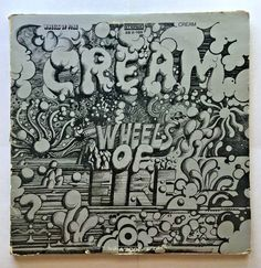 CREAM [LP] WHEELS OF FIRE (VINYL 1968 ATCO RECORD) SD 2-700 #CLASSICROCK
