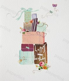 Lemon Sorbet a range of 13 cards designed by Amy Eastland- Presents