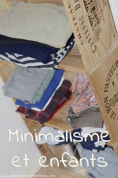 One month to declutter - bonus: children - Yes, minimalism and children are compatible! Konmari, Diy Rangement, Zero Waste, Declutter, Children, Kids, Oui, Cleaning, Make It Yourself