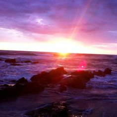 Sunrise. Sunset.