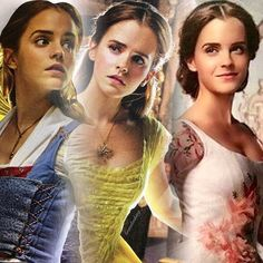 Image result for emma watson belle hair