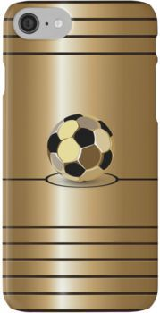 Golden Football Pitch iPod / iPhone 5 / iPhone 4 Case / Samsung Galaxy Cases iPhone 7 Cases