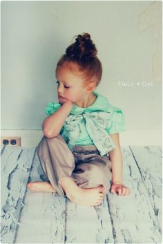 this little ginger is the cutest... can my future daughter look like this please?!