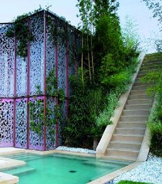 A house that's like a mood ring! Love it!   Color Changing House, Italy, by Italo Rota -- Wait, a house that changes colours? Omg that is so cool!!!