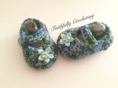 Newborn Mary Janes…. Ready to ship… Baby shoes.. Blue green shoes