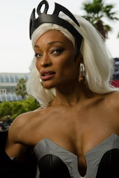 San Diego Comic-Con 2012 Storm cosplay photo One of the best Storm cosplay's… Male Cosplay, Best Cosplay, Awesome Cosplay, X Men Costumes, Cool Costumes, San Diego Comic Con, Fun Comics, Marvel Dc Comics, Storm Cosplay