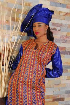 Bazin riche sénégalais femme