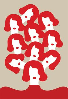 Olimpia Zagnoli   esempio per il rilascio delle Donne di Adweek