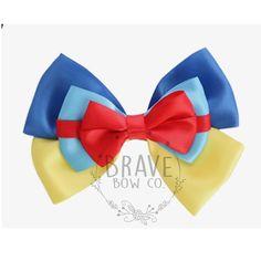 Snow White Princess Ribbon Bow