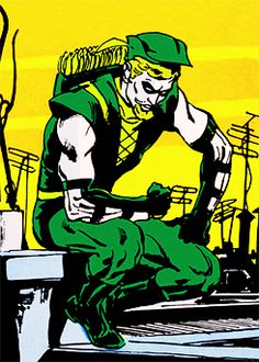 Green Arrow in Green Lantern #76 (1970)