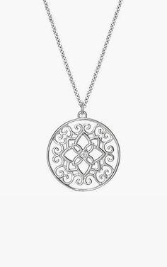 Florentina Pendant in Silver