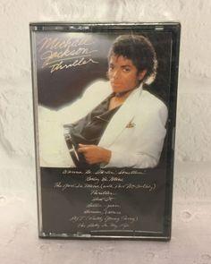 Michael Jackson Thriller Cassette 1982 Sony Music USA | Music, Cassettes | eBay!