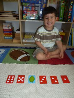 Teaching Number Recognition with Number Cards