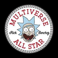 Rick And Morty Multiverse Ramones Logo