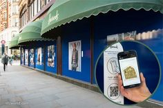 Ralph Lauren promotes new line with NFC and QR codes in Harrods windows http://www.nfcworld.com/2014/10/31/332367/ralph-lauren-promotes-new-line-nfc-qr-codes-harrods-windows/