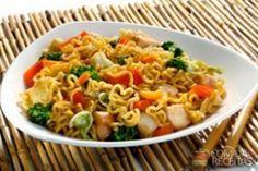 Receita de Yakissoba prático em receitas de massas, veja essa e outras receitas aqui!