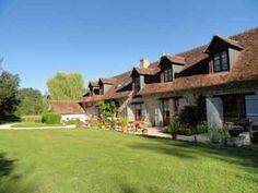 Maison avec chambres d'hôtes à vendre à mi-chemin entre Chambord et Cheverny