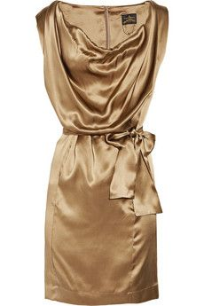 vivienne westwood anglomania silk dress