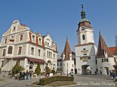 Krems, Austria - Where I lived for a semester when I studied abroad my Junior in college.  REALLY want to go back someday.