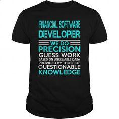 FINANCIAL SOFTWARE DEVELOPER - WEDO OLD - #teespring #shirt designs. PURCHASE NOW => https://www.sunfrog.com/LifeStyle/FINANCIAL-SOFTWARE-DEVELOPER--WEDO-OLD-Black-Guys.html?60505