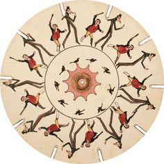Phenakistoscope - England, 1833 (*Animated Gif)