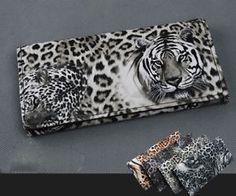 HOT ITEM lady Tiger Leopard Print Long Wallet Purse Coin Bag Card Holder Clutch #HOT #Wallet #Bag #Tiger
