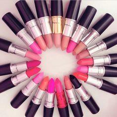 #mac #lipsticks ❤
