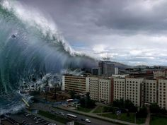 A ferocious tsunami spawned by one of the largest earthquakes ever recorded slammed Japan's eastern coast on March 11, 2011 killing hundreds of people as it swept away boats, cars and homes while widespread fires burned out of control. Hours later, the tsunami hit Hawaii and warnings blanketed the Pacific, as far away as South America, Canada, Alaska and the entire U.S. West Coast.