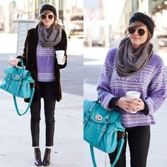 A cozy day in nyc ♥♥ (by Steffy Kuncman) http://lookbook.nu/look/2842083-a-cozy-day-in-nyc