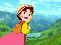 Little Prince and Eight Headed Dragon Heidi: A Girl of the Alps Future Boy Conan Chie the Brat My Neighbours the Yamadas Graffiti Cartoons, Old Cartoons, Disney Cartoons, Heidi Cartoon, El Canton, Anime Art, Manga Anime, Barbie Coloring, Parties