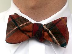XOElle Whips Vintage Men's Shirts Into Snappy Bow Ties | Ecouterre