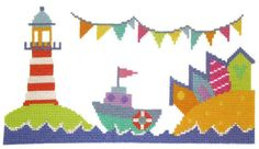 The Stitching Shed Lighthouse cross stitch chart by TheStitchingShed, £7.20
