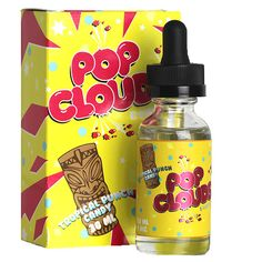 Pop Clouds E-Liquid Tropical Punch Candy 30ml - Tropical PunchCandy70% VGShips from Daddy''s Vapor Distro - California
